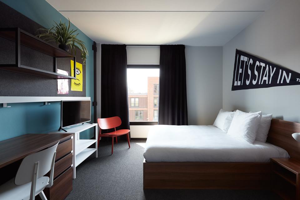 The student hotel eindhoven budget hotel eindhoven for Design hotel eindhoven